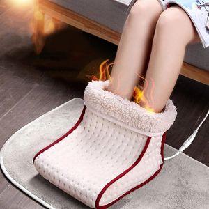 Das elektrische Fußwärmer-Massagegerät mit komfortabler Heizung kann in 5 Heizmodi gewaschen und beheizt werden