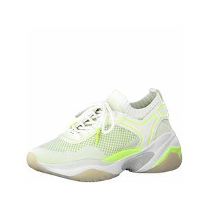 Tamaris Sneaker  Größe 42, Farbe: WHITE/NEON