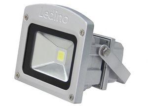 Ledino LED-Flutlichtstrahler 10W, 6000K, silber