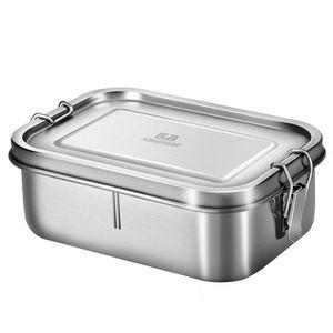 G.a HOMEFAVOR 18/8 Edelstahl Lunchbox 800 ml Brotdose fš¹r Kinder und Erwachsene Bento-Box mit Trennwand