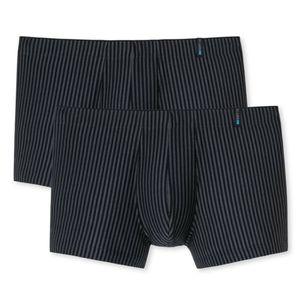 """Schiesser 2er Pack Long Life Soft Shorts Pants Optimales Feuchtigkeitsmanagement dank ausgeglichenem Micromodal-Anteil, Höchste Qualität und Langlebigkeit durch einzigartige """"ReaLasting Baumwolle"""" Verarbeitung, Reduzierte Pilling-Bildung und glatte gleichmäßige Oberfläche"""