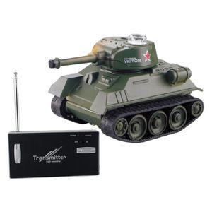 Mini RC Tank Elektronische Spielzeug Modell Fahrzeug Auto für Kinder Kinder Remote Radio Control Tank Radio Gesteuert Grün Panzer 68 x 39 x 40 mm