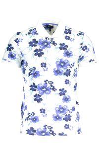Gant Herren All Over Floral Pique Rugger Poloshirt, Weiß M