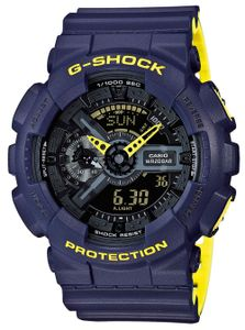 Casio G-Shock Uhr GA-110LN-2AER blau gelb