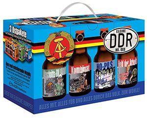 DDR Ost Bier im 8er Geschenkkarton Teil 3 blau (6,81 EUR / l)