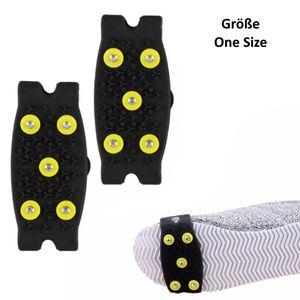 Anti-Rutsch Schuhspikes Einheitsgröße (One Size), Eiskrallen, Schuhkrallen, Gleitschutz, Spikes für Schuhe