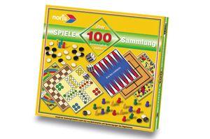 Noris Spiele Spielesammlung 100 Spielmöglichkeiten; 606112588