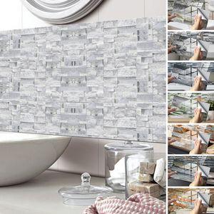 12/24/48 Stück Fliesenaufkleber Küche Badezimmer Selbstklebende Wanddekoration,Farbe: KIT047,Größe:48 Stück