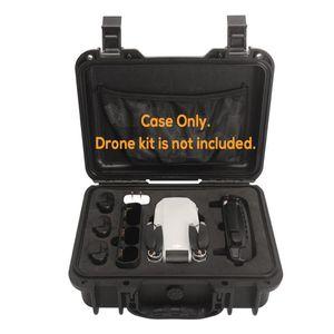 Stoßfester Reise Aufbewahrungskoffer Box für DJI Mavic mini RC Drone Wasserdicht-Black