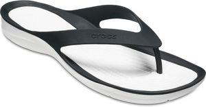 Crocs Swiftwater Flache Sandalen Damen black/white Schuhgröße EU 38-39