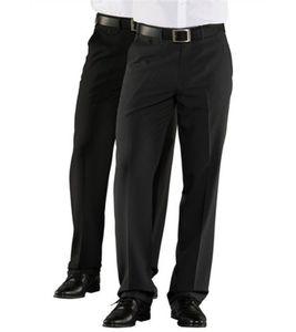 2er Pack STUDIO COLETTI Anzug-Hose klassische Business-Hose für Herren Große Größen Anthrazit/Schwarz, Größe:64