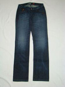 Gang Dania Jeans blau Jeanshose Hüftjeans  Größe:33