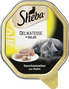 Sheba Genuss in Gelee Geschnetzeltes mit Huhn (85 g)