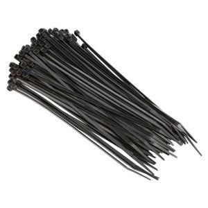2,5x100 mm Kabelbinder schwarz (UV geschützt) 100 St.