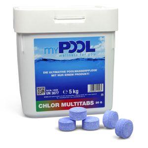 myPOOL Chlor MultiTabs Mini 20g 5,0 kg