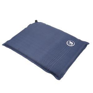 Selbstaufblasendes Sitzkissen Portable Camping Picknick Gartenmatte Mit Farbe Blau