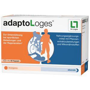 Dr. Loges adaptoLoges Kapseln 240 Stück, für Leistungsfähigkeit