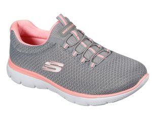 Skechers Summits Damen Sneaker Grau Schuhe, Größe:40