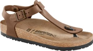 Birkenstock Kairo Sandalen Geöltes Leder Normal Damen brown Schuhgröße EU 39 | Regular