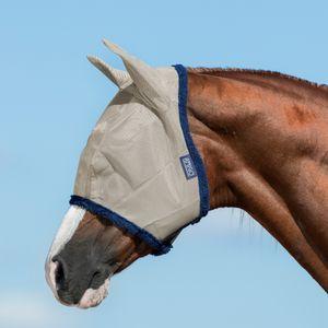 Horseware Fliegenmaske Amigo Fly Mask - Oatmeal/Navy, Größe:L