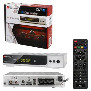 Opticum AX C100s HD mit PVR Digitaler Kabelreceiver