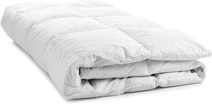 Natürliche Decke Bettdecke 80% Daunen 135/200 1500g - Weiss
