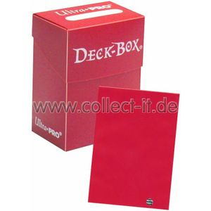 Ultra Pro Deck Box + 60 Deck Protector Sleeves - Rot