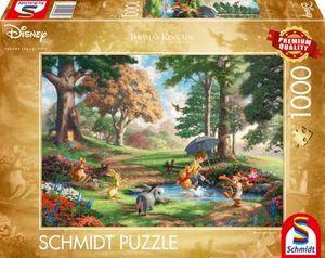 Schmidt Spiele 59689 Puzzle 1000T Disney, Winnie The Pooh