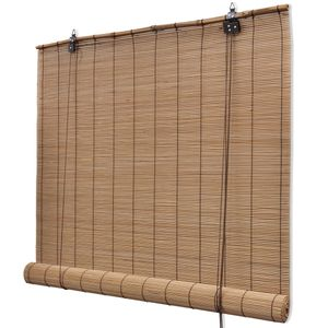vidaXL Braunes Bambusrollo 150 x 220 cm