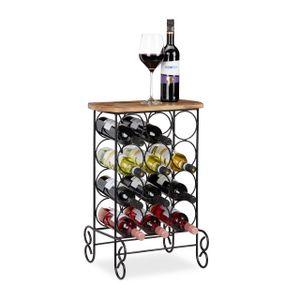 relaxdays Design Weinregal für 12 Flaschen