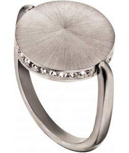 Esprit ESRG00022117 Damen Ring Powder Edelstahl Silber Weiß 54 (17.2)