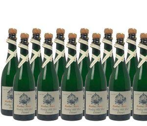 Winzersekt Riesling Mosel Weingut Markus Burg Qualitätswein trocken und vegan (12x0,75l)