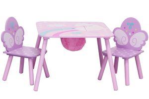 ib style® UNICORN Kindersitzgruppe Tischset Kindermöbel