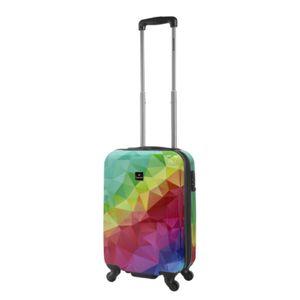 Saxoline Neon Print Koffer Trolley 55 cm by viaccio