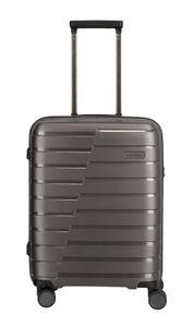 Travelite Air Base 4-Rollen 4-Rad Boardcase Kabinen Handgepäck Trolley, Farbe:Anthrazit
