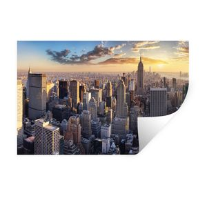Wandaufkleber - New York City, NYC, USA - 90x60 cm - Repositionierbar