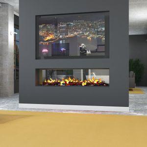 muenkel design e-tunnel PRO wood 800 [Opti-myst Elektrokamineinsatz]: Tank - Ohne Glasscheibe - Ohne Heizung