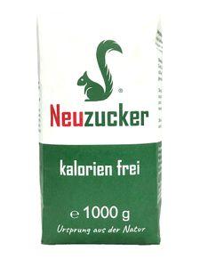 Neuzucker kalorien frei, 1000 g Papierbeutel