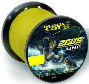Black Cat Zeus Line 450m 0,60mm 59kg gelb - Welsschnur
