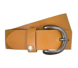 REPLAY Gürtel Damengürtel Ledergürtel Damenledergürtel Gelb 5256, Länge:75, Farbe:Gelb