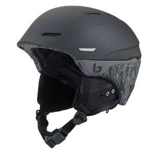 Bollé Millenium Skihelm Damen und Herren Snowbardhelm, Farbe:matte black & titanium, Helmgröße:Gr. 58-61cm