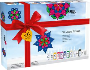 Window Color Glas Design Set XXL
