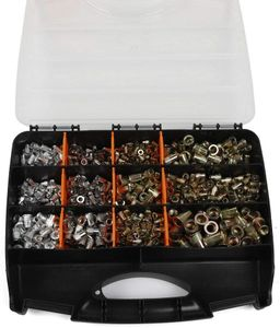 900 Stück Nietmuttern Set Edelstahl Blindnietmutter Sortiment M3 M4 M5 M6 M8 M10