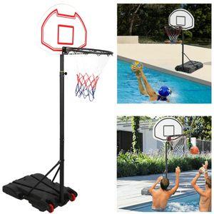 Tragbarer abnehmbarer Basketballkorb höhenverstellbarer Ständer für Indoor Outdoor Aktivitäten