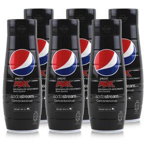 SodaStream Getränke-Sirup Softdrink Pepsi Max Zero 440ml (6er Pack)