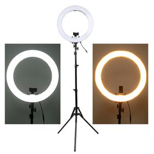 LED Selfie Ring Licht Studio Lichter fuellen Licht  mit Verstellbaren Ständer  für Live-Stream