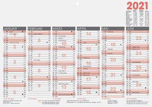 "Glocken Tischkalender ""Tafelkalender"" 2021 DIN A4 quer"