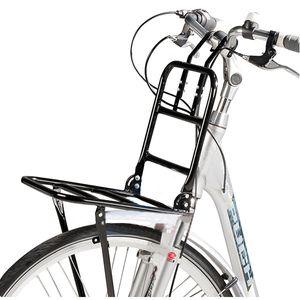 """Fahrrad Frontgepäckträger für 24""""-28"""" Räder - Gepäckträger - Schwarz"""
