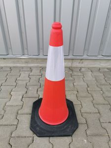 Verkehrsleitkegel 75 cm Profi Pylone Pylonen Warnkegel Leitkegel Hochreflex