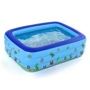 Aufblasbarer Sessel,Tragbares Schwimmbad Aufblasbares Babyschwimmbad Kinderbecken im Freien Kinderbadewanne,,Blue